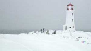 Snowfall causes travel troubles in N.S.