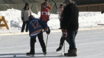 CTV Northern Ontario: Pond hockey