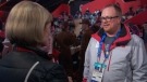 Canadian Zamboni driver Art Johnston is working at the Winter Games in South Korea.