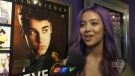 Fans of pop idol Justin Bieber lined up for hours just so they could be among the first to see a museum exhibition in his hometown of Stratford, Ont.