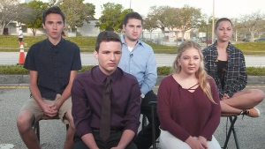 Students call for stricter gun laws
