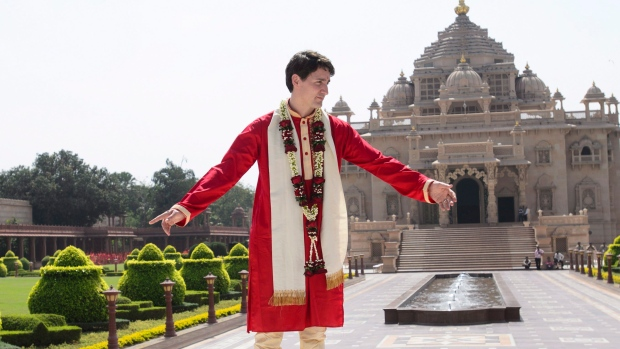 Trudeau in INdia