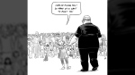 """Vancouver artist Pia Guerra's cartoon """"Hero's Welcome"""" shows Florida shooting victim Aaron Feis in this undated handout image. A Vancouver illustrator says she's overwhelmed by the social media response to her cartoon depicting the victim of the recent school shooting in Florida. Pia Guerra's """"Hero's Welcome"""" shows a young girl leading football coach Aaron Feis by the hand to meet a crowd of other people killed in school shootings. (THE CANADIAN PRESS / HO - Pia Guerra)"""