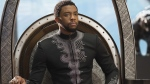 Chadwick Boseman in a scene from Marvel Studios' 'Black Panther.' (Matt Kennedy/Marvel Studios-Disney via AP)
