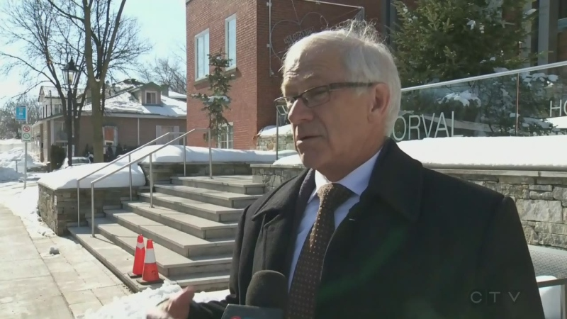 Edgar Rouleau, mayor of Dorval, on preparations his city is taking for mid-winter flooding