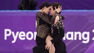 Canada's Tessa Virtue and Scott Moir perform in the ice dance figure skating short program at the Pyeongchang Winter Olympics Monday, February 19, 2018 in Gangneung, South Korea. THE CANADIAN PRESS/Paul Chiasson
