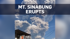Mt. Sinabung erupts, spews massive ash cloud