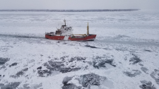 The Canadian Coast Guard Ship Griffon is shown in this photograph. (Canadian Coast Guard)