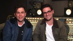 Max Kerman and Mike Deangelis from the Arkells