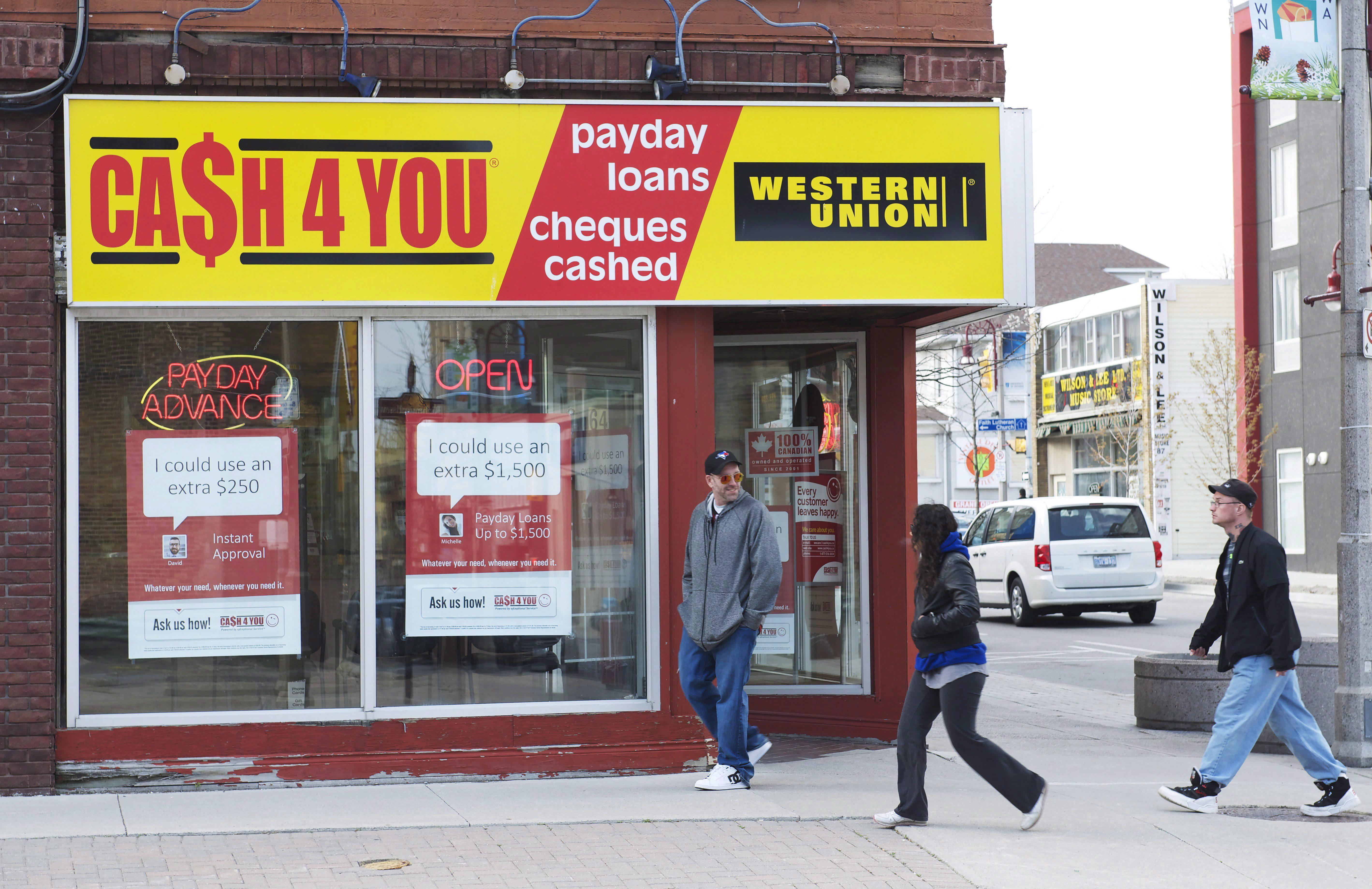 Ontario payday loan legislation