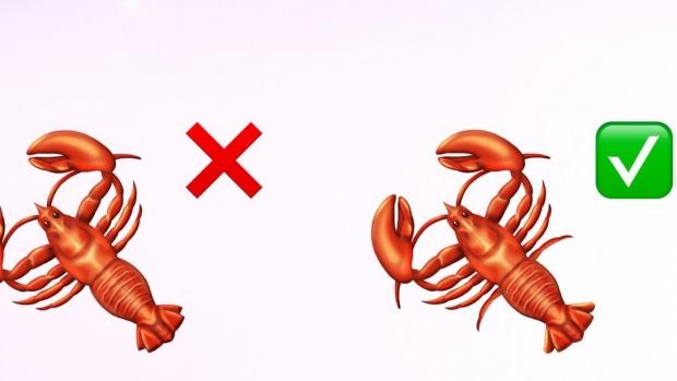 Lobster emoji gets 2 more legs following design complaints | CTV News