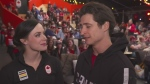 Tessa Virtue and Scott Moir speak with CTV News following their gold medal win in South Korea.
