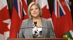 LIVE1: Ontario NDP Leader Andrea Horwath speaks