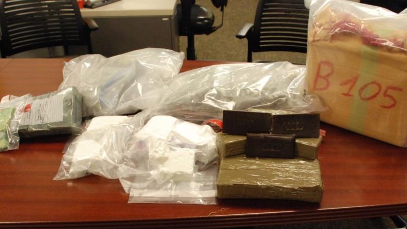 Police seized almost $400, 000 in drugs. (Courtesy London police)
