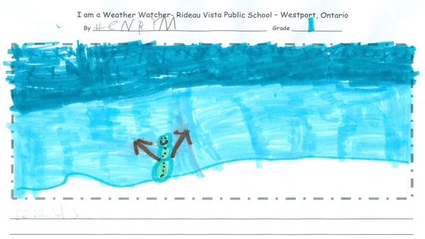 Henry M., Grade 1, Rideau Vista Public School, Westport