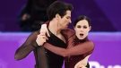 Tessa Virtue and Scott Moir of Canada compete in the ice dance figure skating free dance at the Pyeongchang Winter Olympics, Tuesday, February 20, 2018 in Gangneung, South Korea. THE CANADIAN PRESS/Paul Chiasson