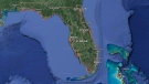 Florida is pictured in this satellite image. (Google)