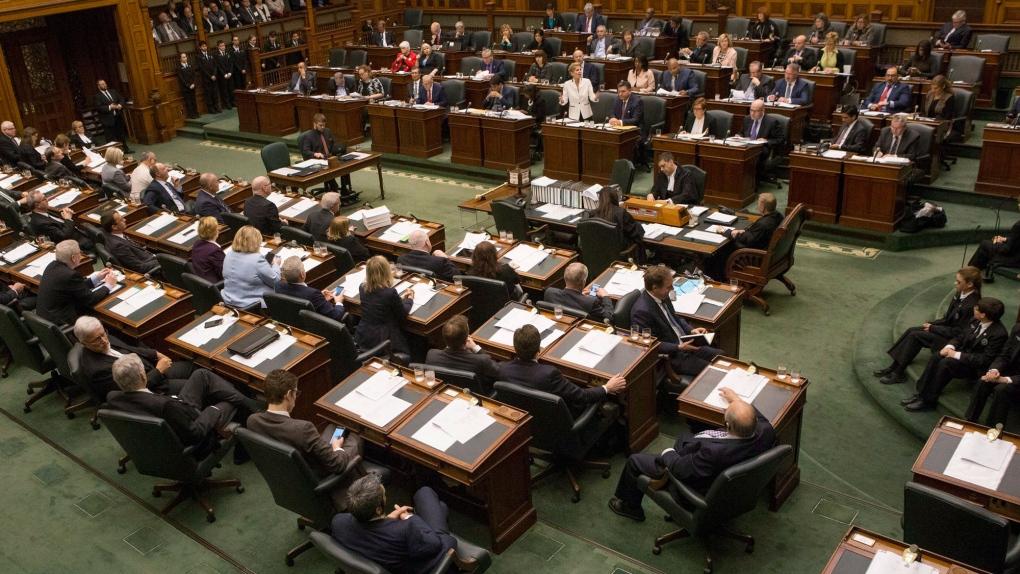 Ontario legislature resumes