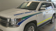 Officials say more than 90 percent of patients referred to community paramedics can be treated on-site.