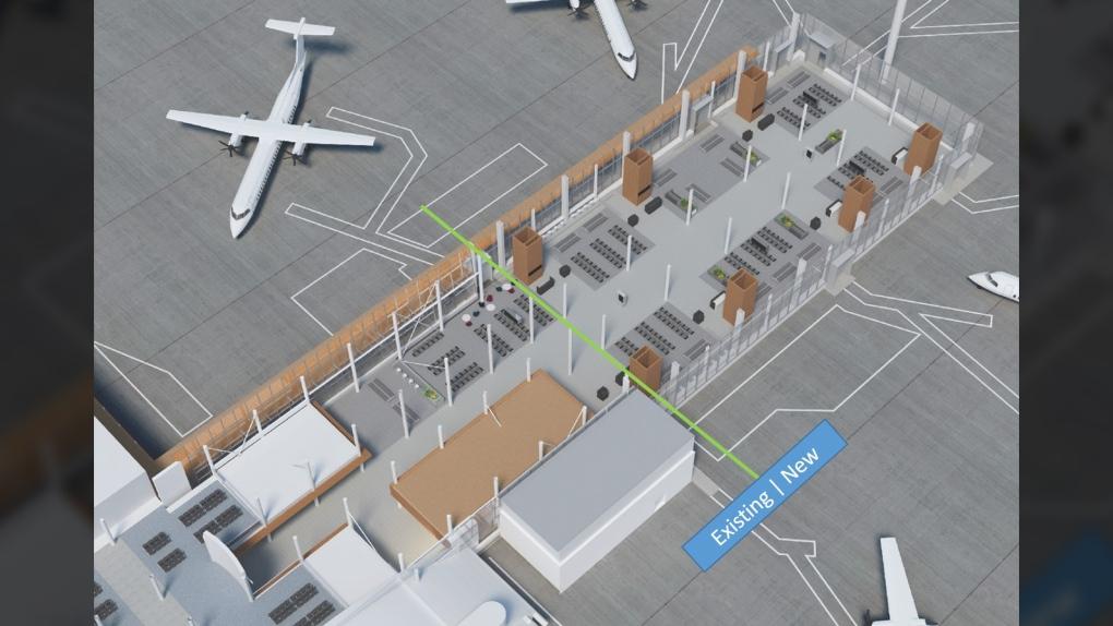 passenger lounge expansion