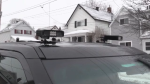 Roof mounted cameras can read license plates