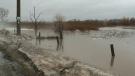 Roads closed in Cambridge as water rises