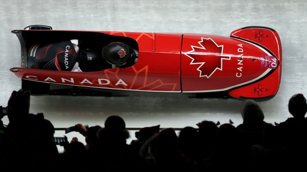 Team Canada's Kaillie Humphries, Phylicia George win bobsled bronze