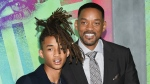 In this Aug. 1, 2016 file photo, Jaden Smith, left, and his father Will Smith attend the world premiere of 'Suicide Squad' in New York. (Photo by Evan Agostini/Invision/AP, File)