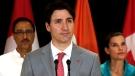 PM Trudeau speaking in India