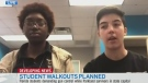 Students plan walkouts