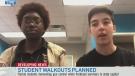 Students plan walkouts