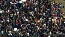 Students stage walkout at Florida schools