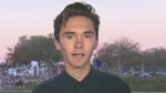 David Hogg is among the outspoken students who criticized politicians and they demanded stricter gun laws after the Florida school shooting. (source: CNN)