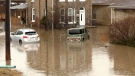 Some residents have been evacuated after heavy rainfall caused flooding in parts of Brantford, Ont.