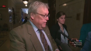 Health Minister Gaetan Barrette agreed to a series