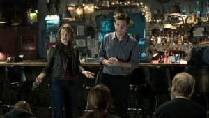 """This image released by Warner Bros. Entertainment shows Rachel McAdams, left, and Jason Bateman in a scene from """"Game Night."""" (Hopper Stone/Warner Bros. Entertainment via AP)"""
