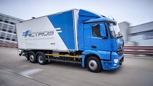 Mercedes-Benz eActros (Courtesy of Daimler)