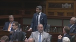 Sault Ste. Marie MPP Ross Romano at Queen's Park