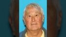 The BC Coroner's Service confirms Stanley Okumoto's leg and foot washed up on a beach near Jordan River late last year. (Kitsap County Sheriff's Office)