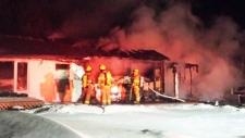 Fire destroys Springfield home