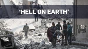 U.N. chief calls Syria war zone 'hell on Earth'
