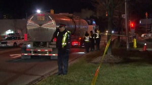 A male pedestrian is dead after a collision took place in Scarborough's Dorset Park area.