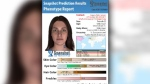 Likeness of mother of baby found dead in Bowness (Calgary Police Service)
