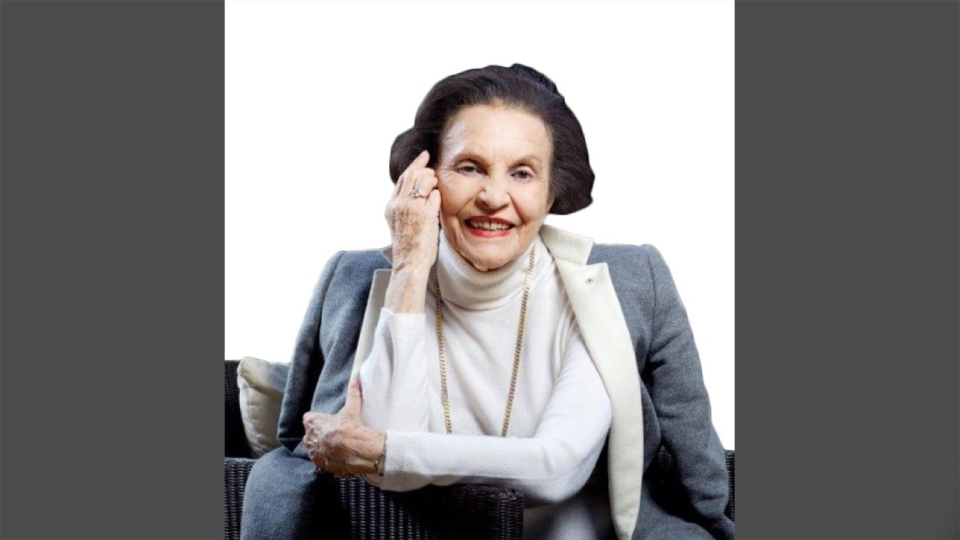 Sonja Bata is seen in this undated photo. (Bata Shoe Museum / Twitter)