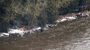 Three-year-old boy missing amid severe flooding in