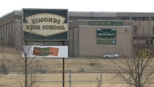 There was an increased police presence at Simonds High School in Saint John on Feb. 22, 2018, after an alleged threat was posted on social media.