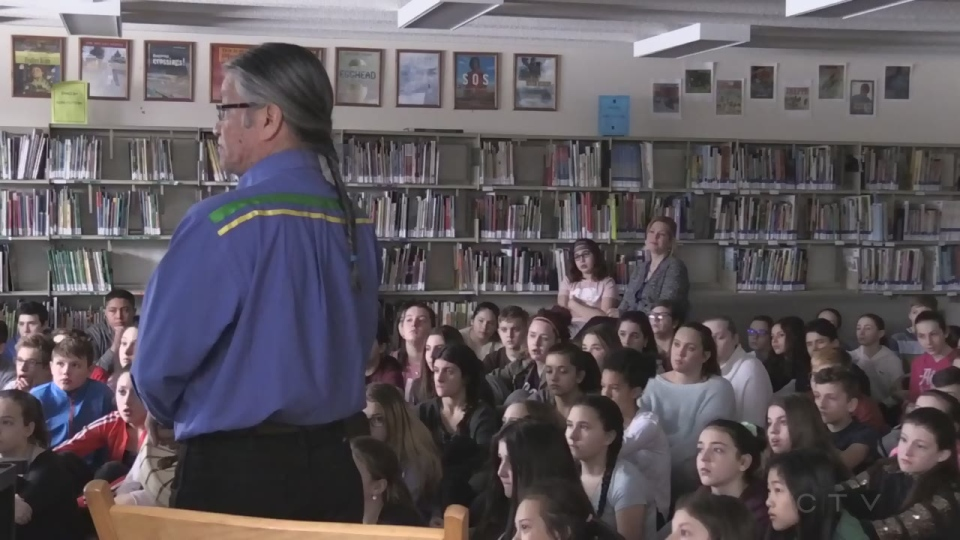 St. Mary's students learn about residential school