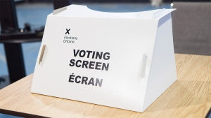 Voting Screen (Elections Ontario)