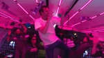 Zero-gravity dance party