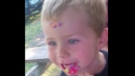 Kaden Young, 3, is shown in an undated Facebook image.